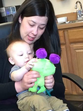 Tara and baby
