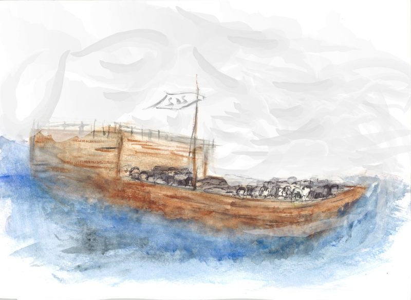 Viet Boat Refugees_Art Submission